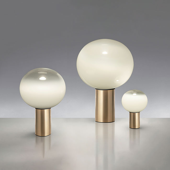 [Artemide/아르떼미데] Laguna 26 Table - Satin Brass