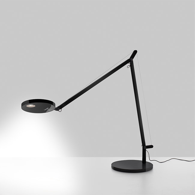 [Artemide/아르떼미데] Demetra Table - 2700K - Body Lamp - Opaque Black