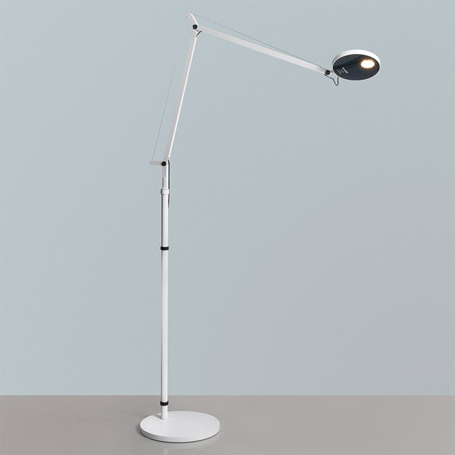 [Artemide/아르떼미데] Demetra Reading Floor - Movement Detector - 3000K - Body Lamp - White