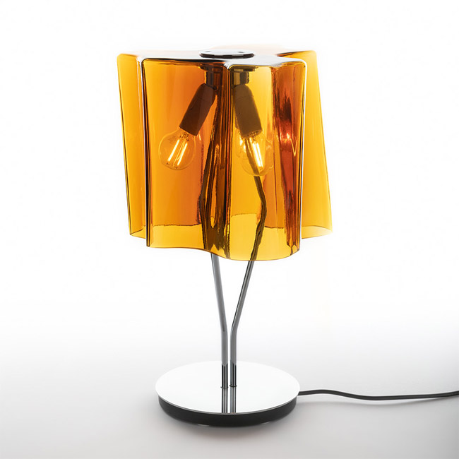 [Artemide/아르떼미데] Logico Mini table Tobacco/Chrome